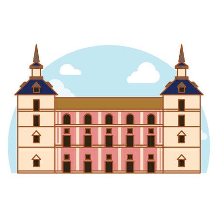 villa: casa de la villa