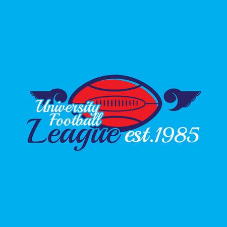 league: university football league