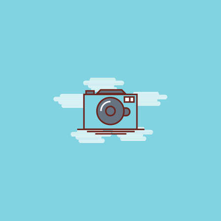enjoyment: camera Illustration