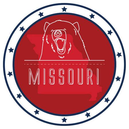 missouri: missouri sticker