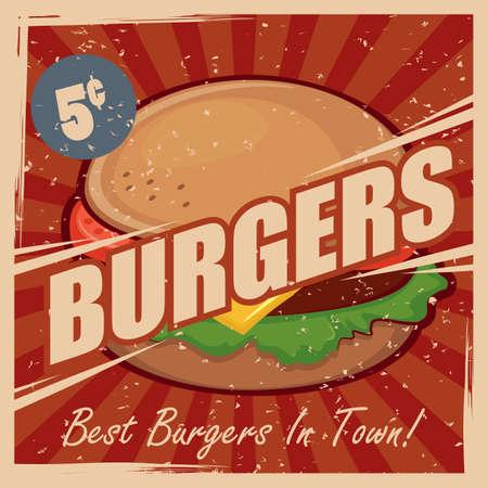 oldies: burger wallpaper