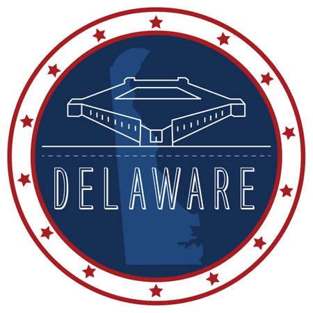 delaware: delaware sticker