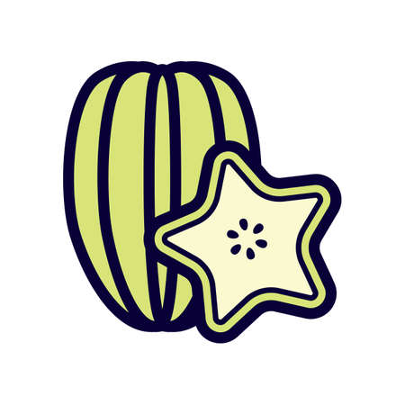 star: star fruit