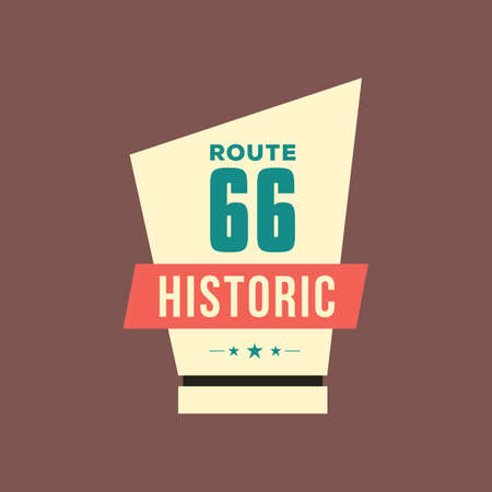 historic: historic route 66 trophy