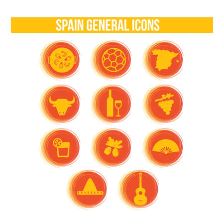 general: spain general icons