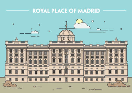 madrid: royal palace of madrid