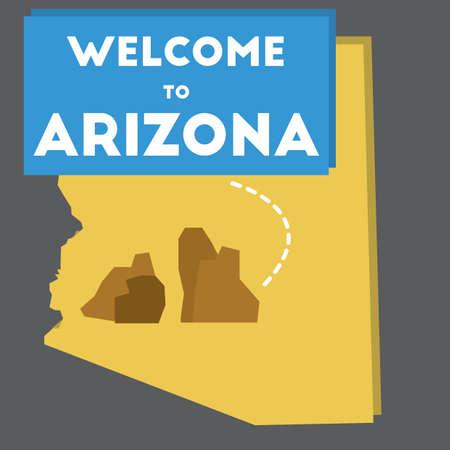 grand canyon: welcome to arizona state