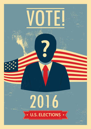 elections: us elections poster