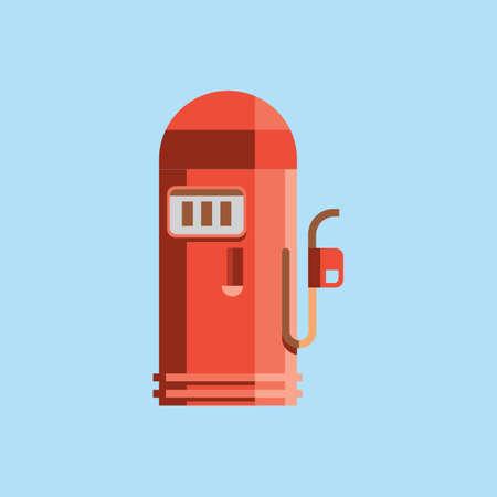 pump: gasoline pump