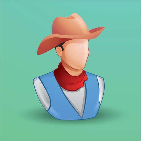 countryman: cowboy Illustration