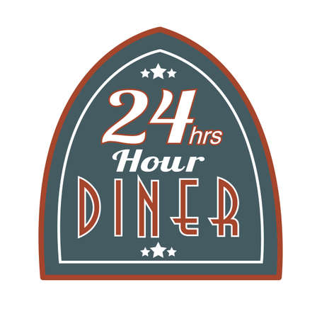 diners: retro store sign