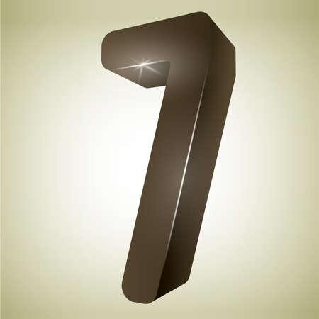 number seven: number seven