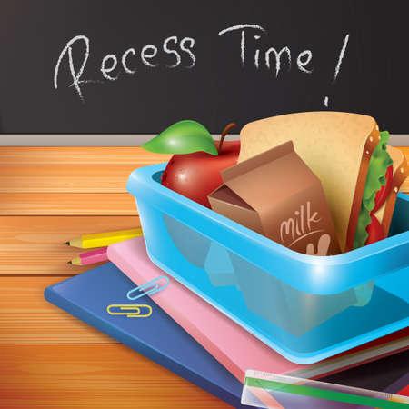recess: recess time