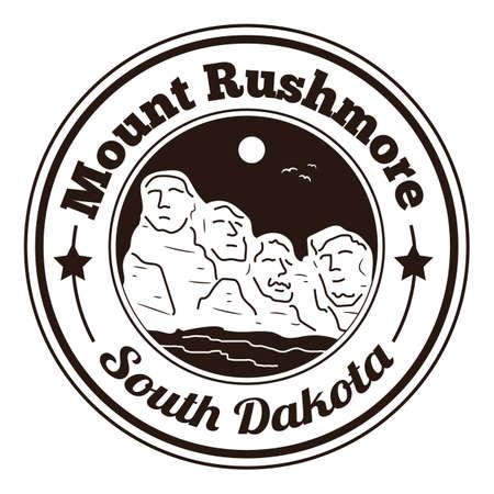 mount rushmore: mount rushmore label
