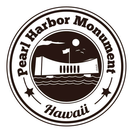 pearl harbor monument label