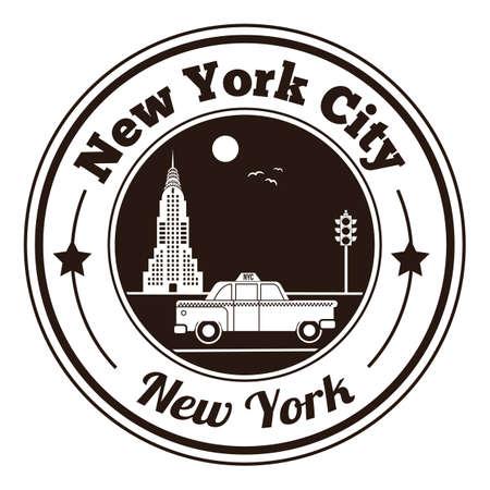 new york city-Label