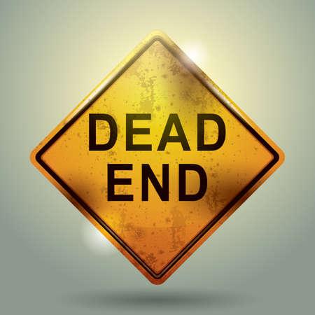 end: dead end sign