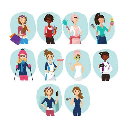homemaker: collection of women and activities