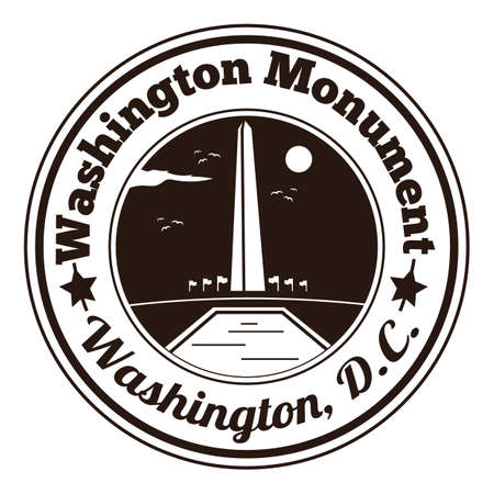 washington monument: washington monument label