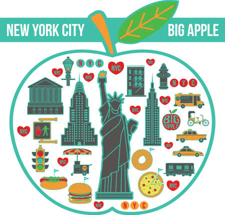 new york city in apple