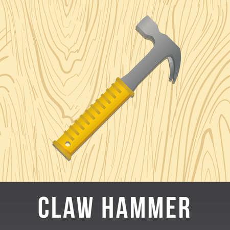 hardware repair: claw hammer