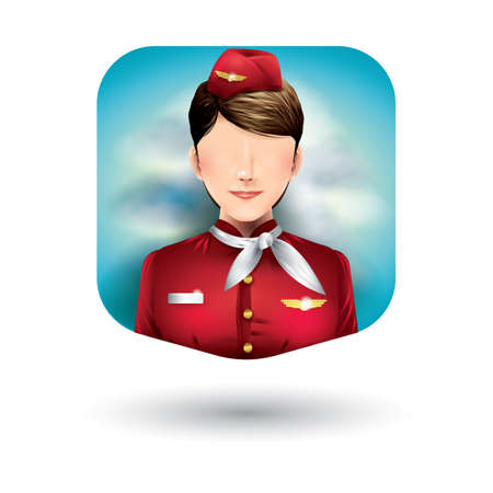 airhostess: air-hostess