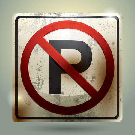 parking is prohibited: no parking sign