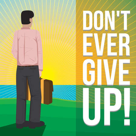 dont give up: inspiration quote