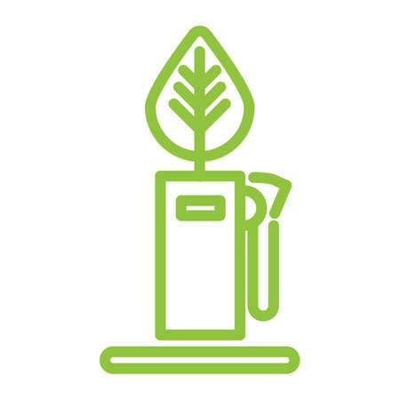 gasoline pump: gasoline pump with leaf