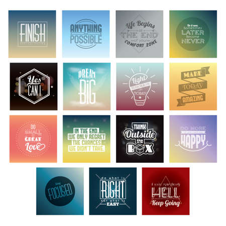 collection of motivational quotes