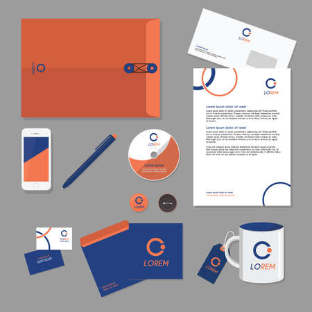 mobilephones: corporate identity elements