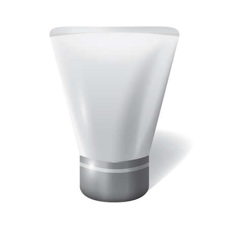 unlabeled: tube of cream