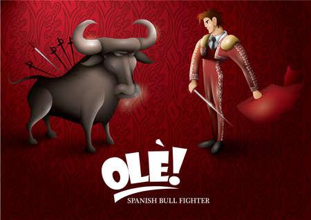 toreador: spanish bull fighter wallpaper