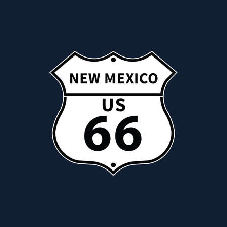 roadsigns: new mexico us 66