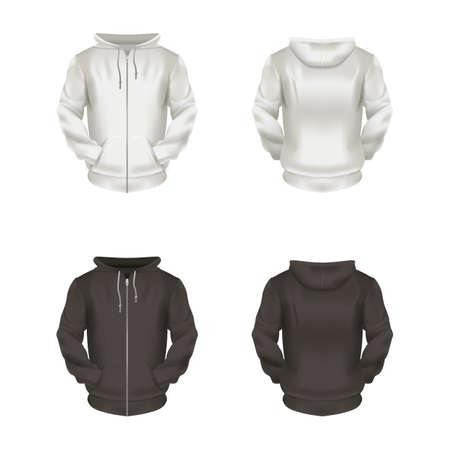 formal attire: hoodies