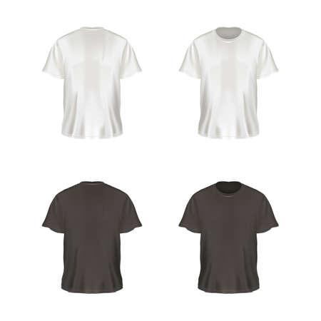 formal attire: t-shirt Illustration