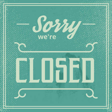 were: sorry were closed wallpaper