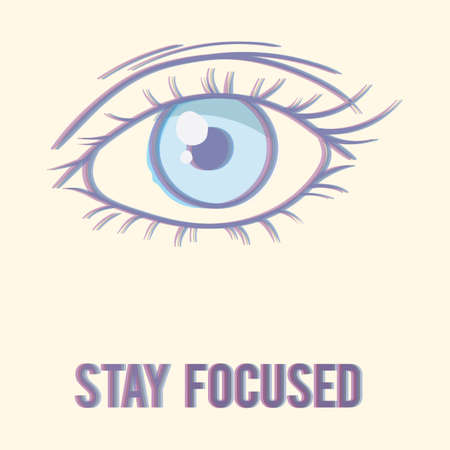 perception: stay focused Illustration