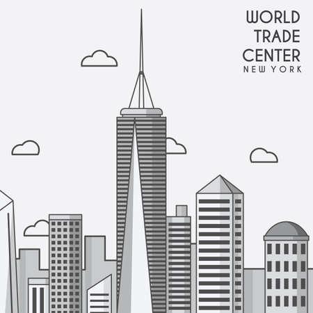 세계 무역 센터 일러스트