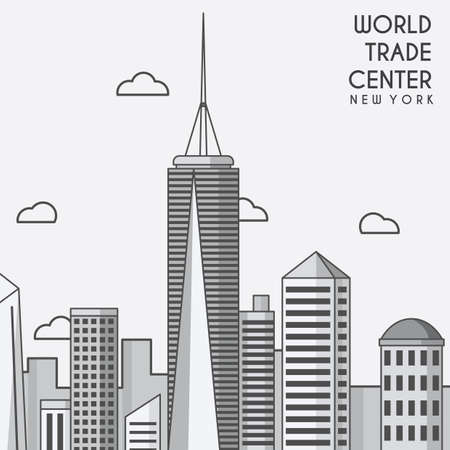 World Trade Center Standard-Bild - 51360874