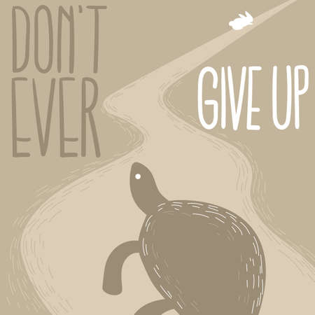 dont give up: dont give up