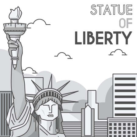 tourist attraction: statue of liberty
