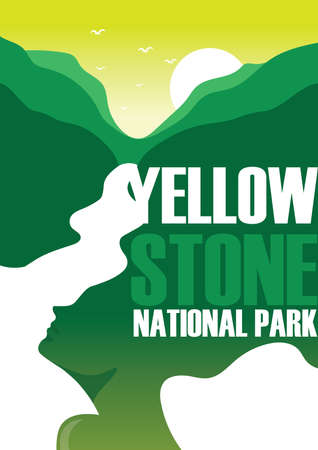 yellow stone: yellow stone national park