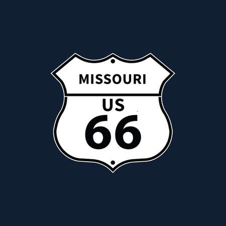 roadsigns: missouri us 66