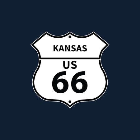 KANSAS: kansas us 66