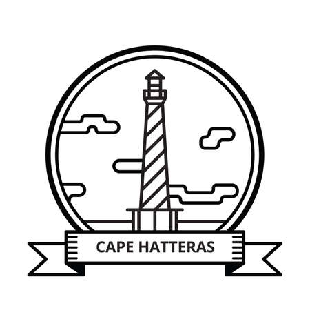 hatteras: cape hatteras Illustration
