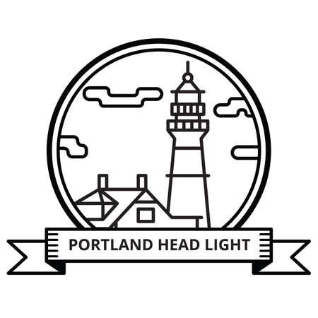 headlight: portland headlight