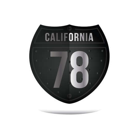 roadsigns: california route sign