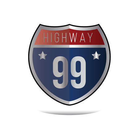 99: highway 99 sign