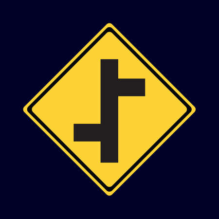 roadsigns: staggered